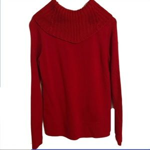 🔥 Calvin Klein Acrylic / Wool Sweater Holiday Red